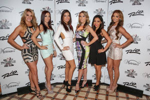 X Burlesque Show Cast